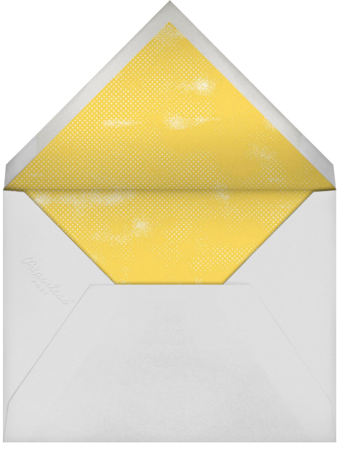 The Symbol Life - Rose Gold - Paperless Post - Baby shower - envelope back