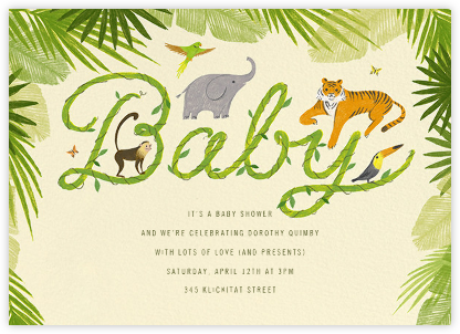 The Vine Print - Paperless Post - Online Baby Shower Invitations