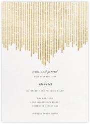 Josephine Baker (Menu) - White/Gold