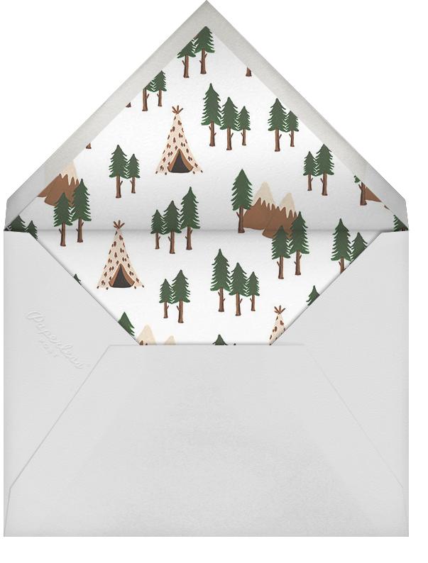 Go West - Rifle Paper Co. - Baby shower - envelope back