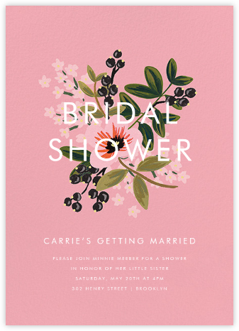 March Posy - Rifle Paper Co. - Bridal shower invitations