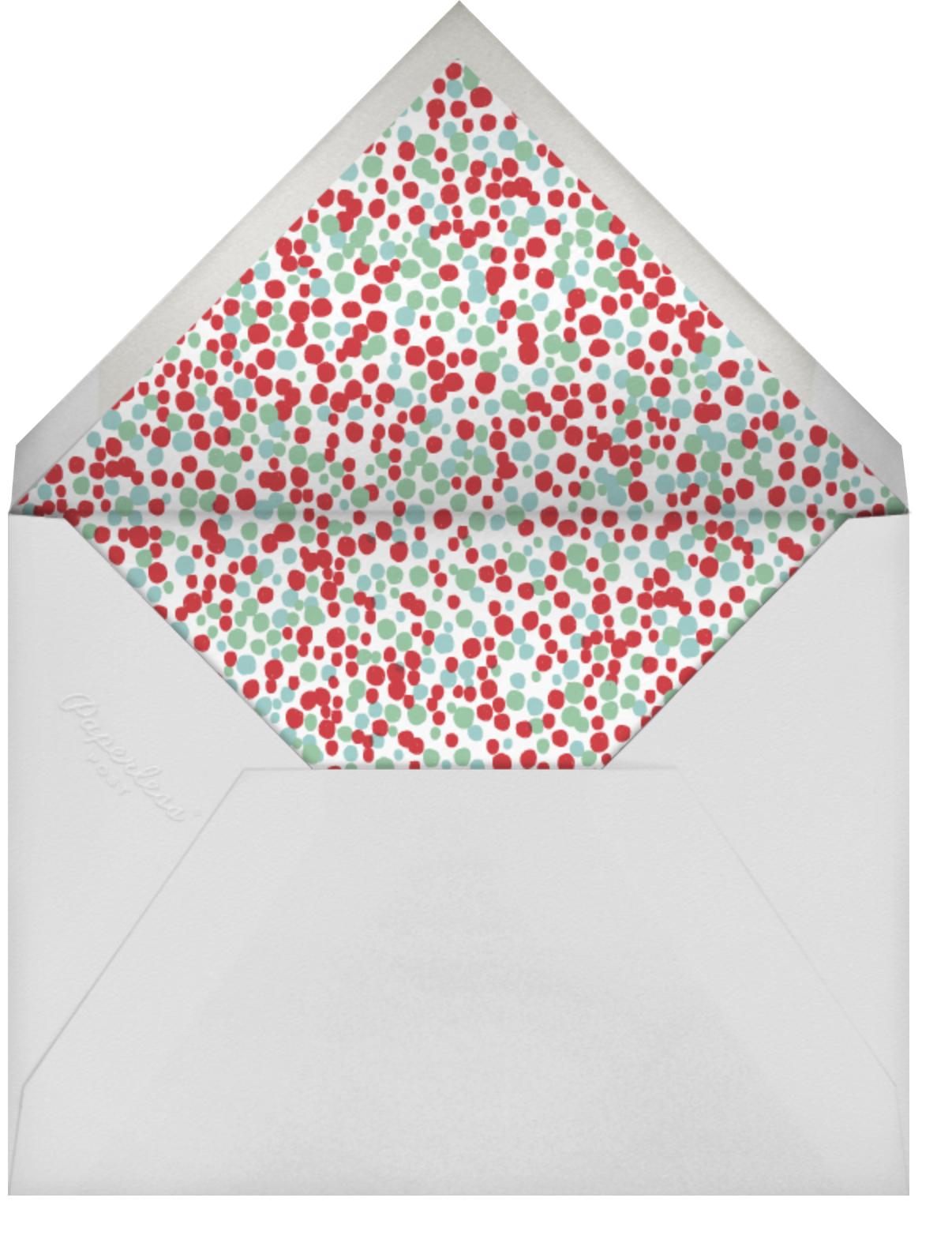 Pyramid of Happiness - Japanese Mix - Mr. Boddington's Studio - New Year - envelope back