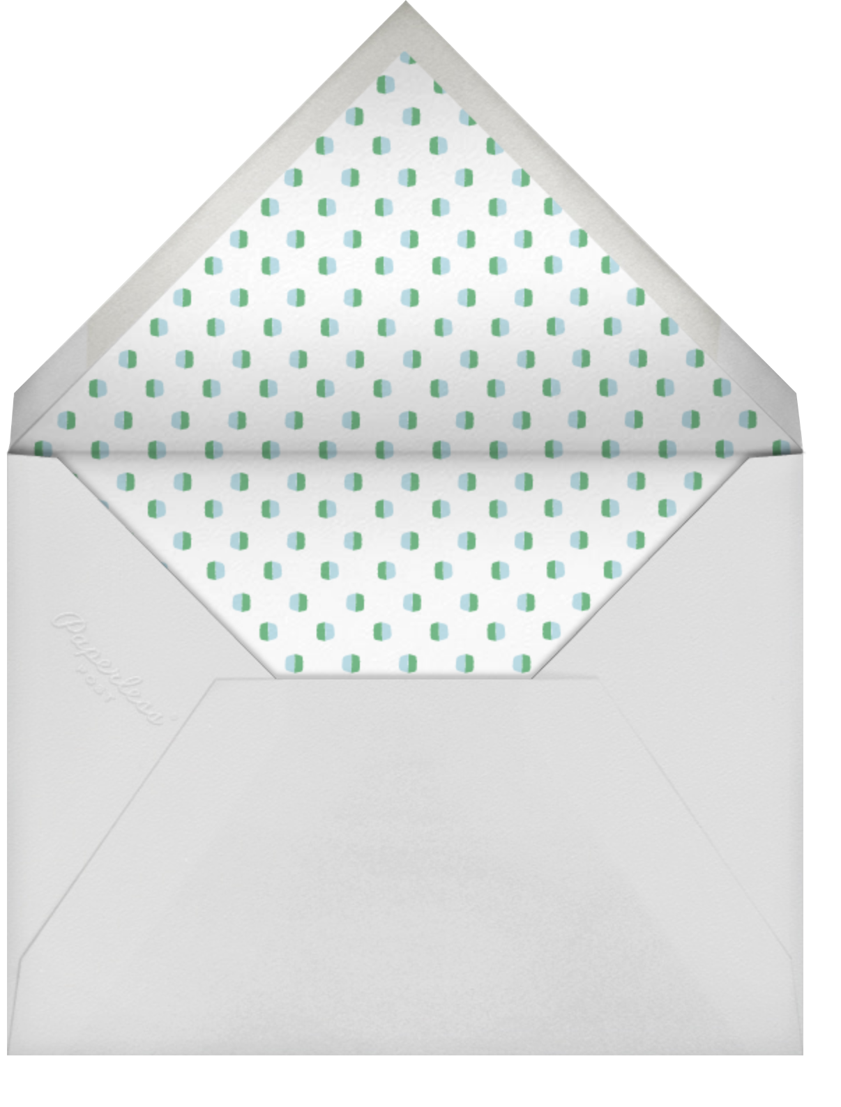 Reindeer Love - Celadon - Mr. Boddington's Studio - Envelope