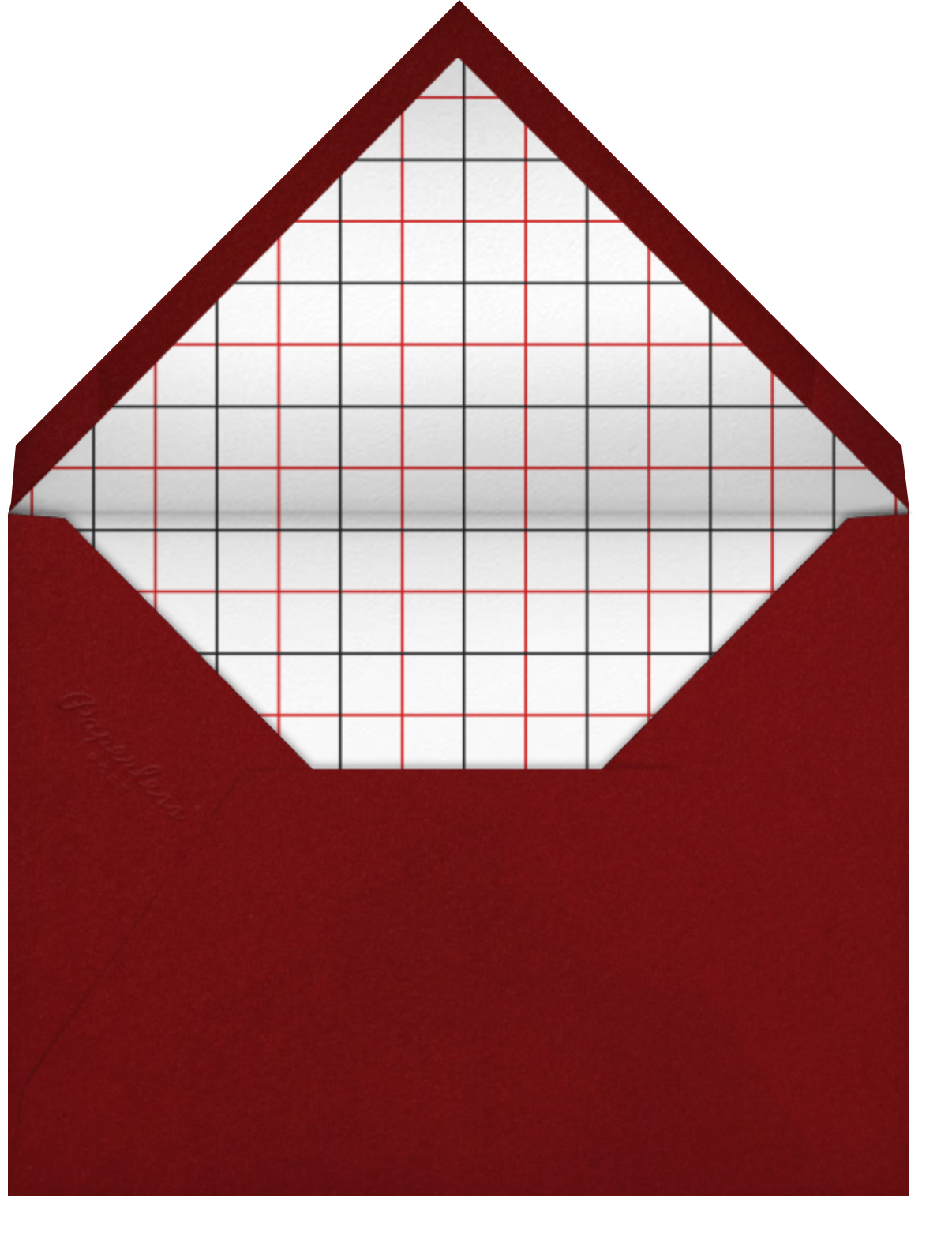 Cookout - Paperless Post - Barbecue - envelope back