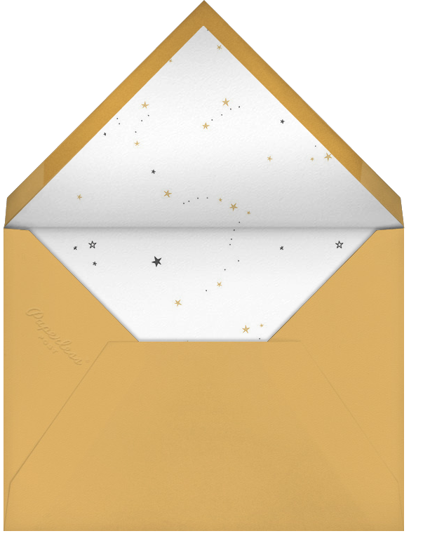 Bunny's Big Adventure (Photo) - Little Cube - Baby boy announcements - envelope back