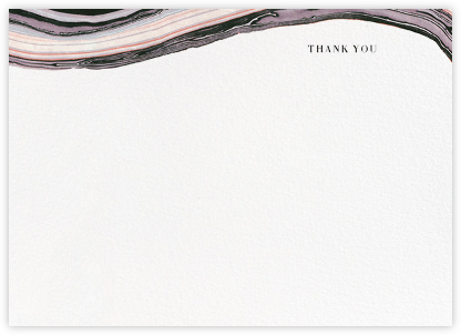 Marbleized (Stationery) - Kelly Wearstler - Wedding thank you cards