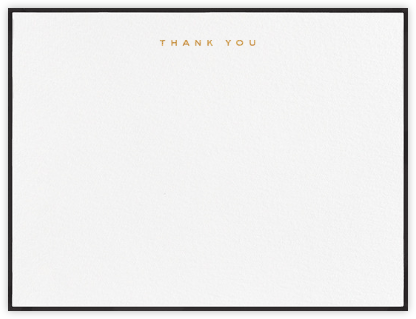 Place Vendome - Black - Paperless Post - Wedding thank you notes