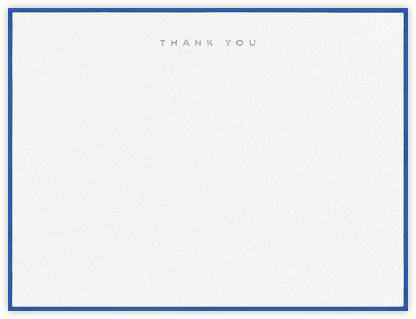 Place Vendome - Regent Blue - Paperless Post - Wedding thank you notes