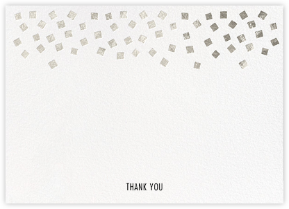 Fette (Stationery) - White/Silver - Kelly Wearstler - Kelly Wearstler wedding