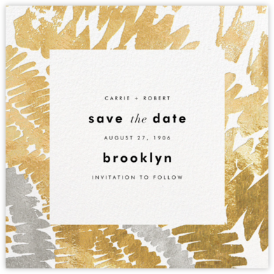 Fosse - Kelly Wearstler - Modern save the dates