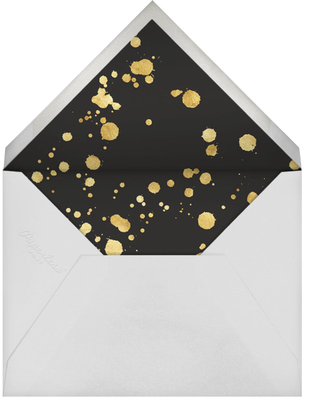 Glint - Kelly Wearstler - Adult birthday - envelope back