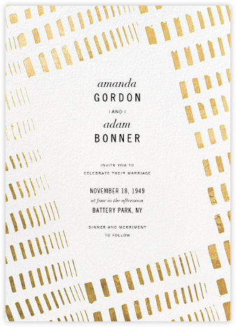 Echo (Invitation) - Kelly Wearstler - Modern wedding invitations