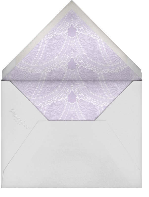 Intimate Situation - Wisteria - Paperless Post - Bridal shower - envelope back