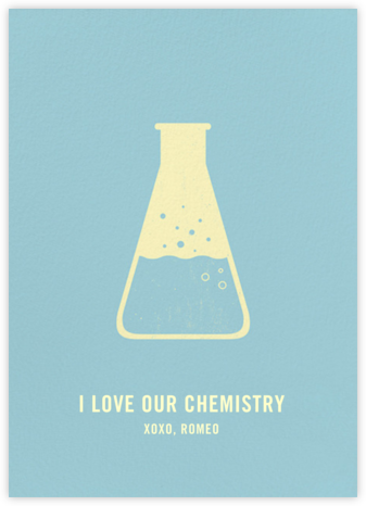 Erlenmeyer Flask - Paperless Post - Love Cards
