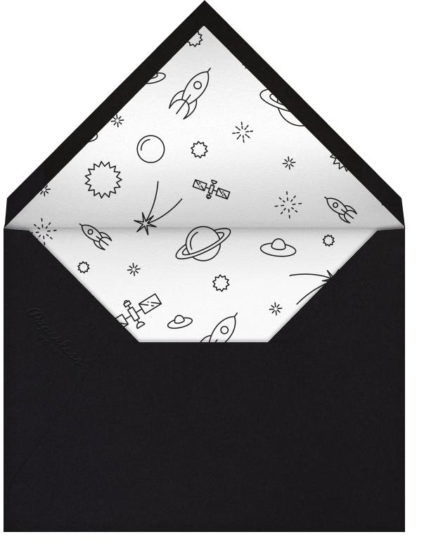 Space Chalk Presenting - Paperless Post - Birth - envelope back
