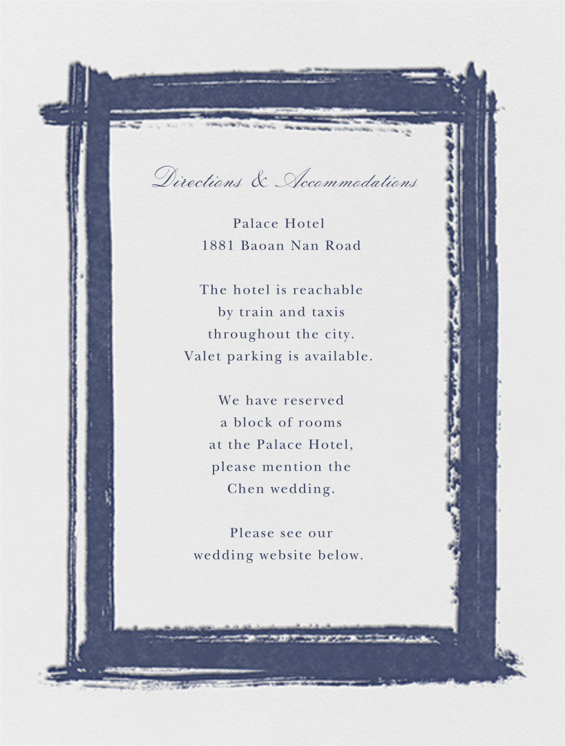 Gesso I - Navy Blue - Paperless Post - All - insert front