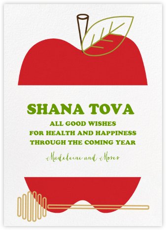 Core Values (Greeting) - Paperless Post - Rosh Hashanah Cards