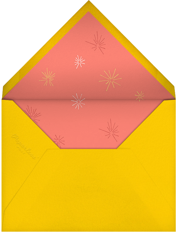 Friendly Fireworks - Paperless Post - Canada Day - envelope back