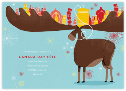 Moosed Up - Paperless Post - Canada Day