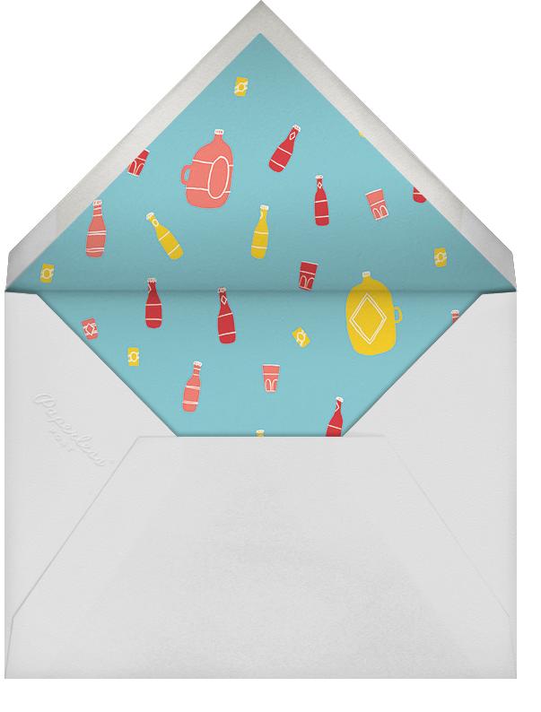 Moosed Up - Paperless Post - Summer entertaining - envelope back