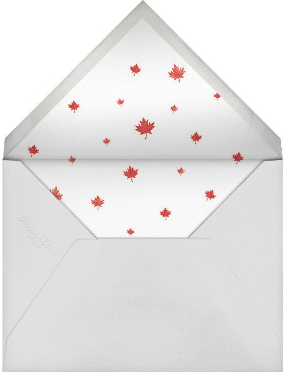 Mountie Mayhem - Paperless Post - Canada Day - envelope back