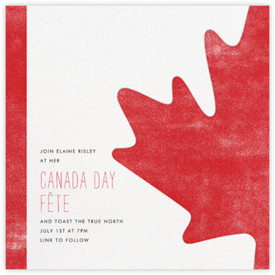 O Canada! - Paperless Post -