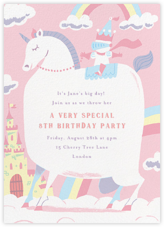 Our Little Princess - Paperless Post - Online Kids' Birthday Invitations