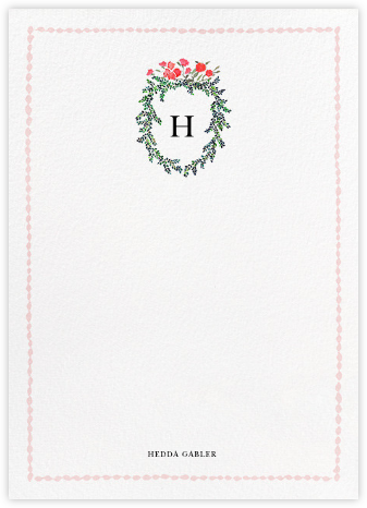 Boxwood Hedge (Stationery) | tall
