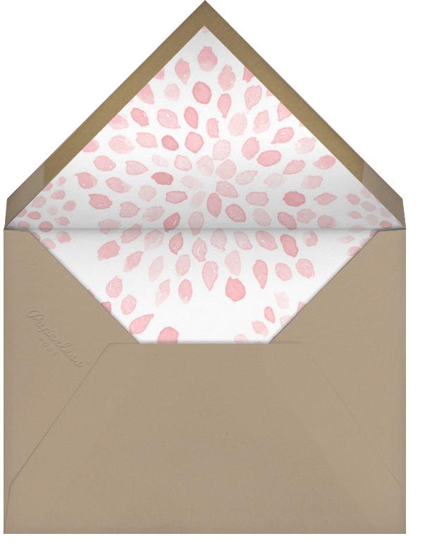 Let's Brunch - Crate & Barrel - Adult birthday - envelope back