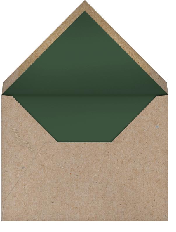 Belvoir (Stationery) - White - Paperless Post - Wedding - envelope back