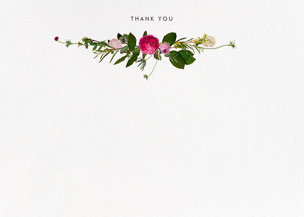 Belvoir (Stationery) - White - Paperless Post - Wedding thank you notes