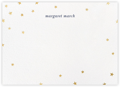 Nightly - White/Gold - Paperless Post - Stationery