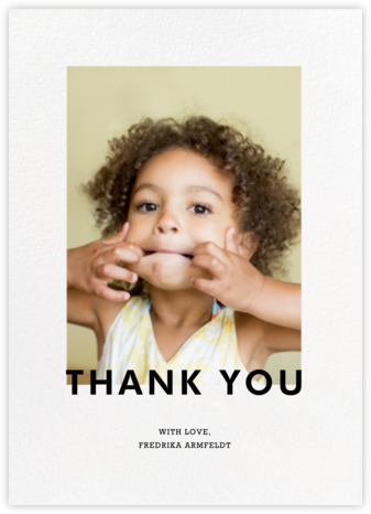 Vertical Overlap - Paperless Post - Online thank you notes