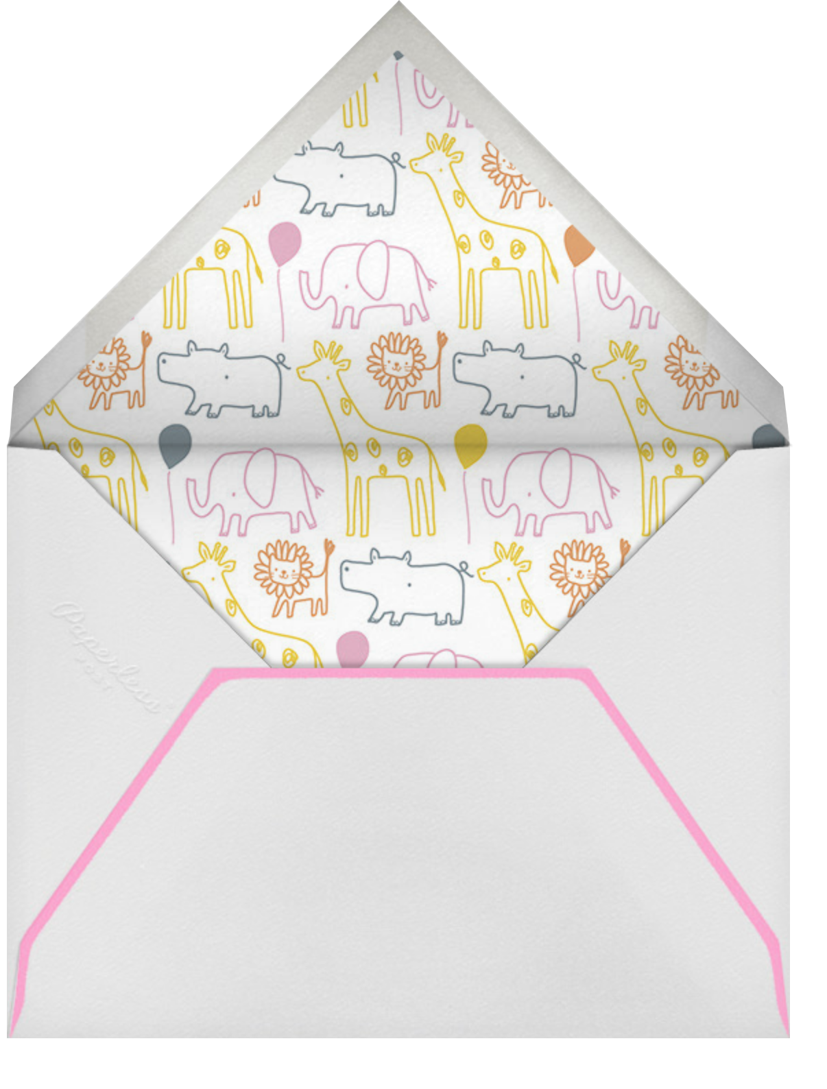 Jungle March - Little Cube - Baby and kids' - envelope back