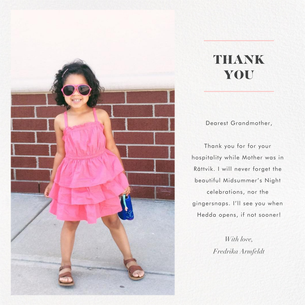 Split Square (Thank You) - Paperless Post -