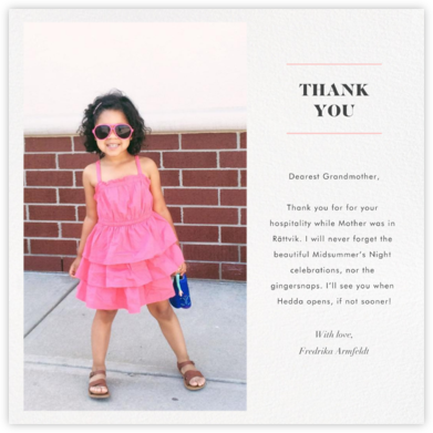 Split Square (Thank You) - Paperless Post - Kids' thank you notes