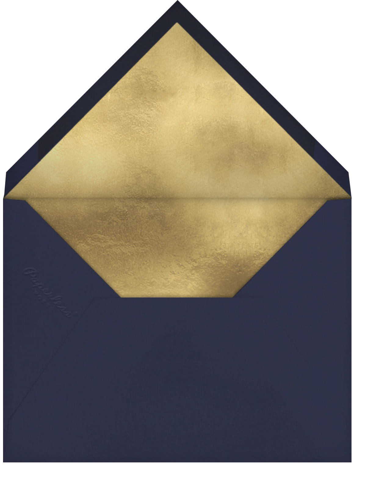 Featured Thanks (Photo) - Coral - Paperless Post - Envelope