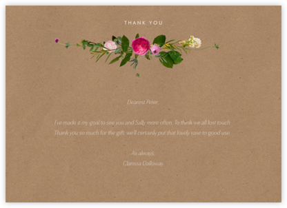 Belvoir (Stationery) - Chipboard - Paperless Post - General thank you notes
