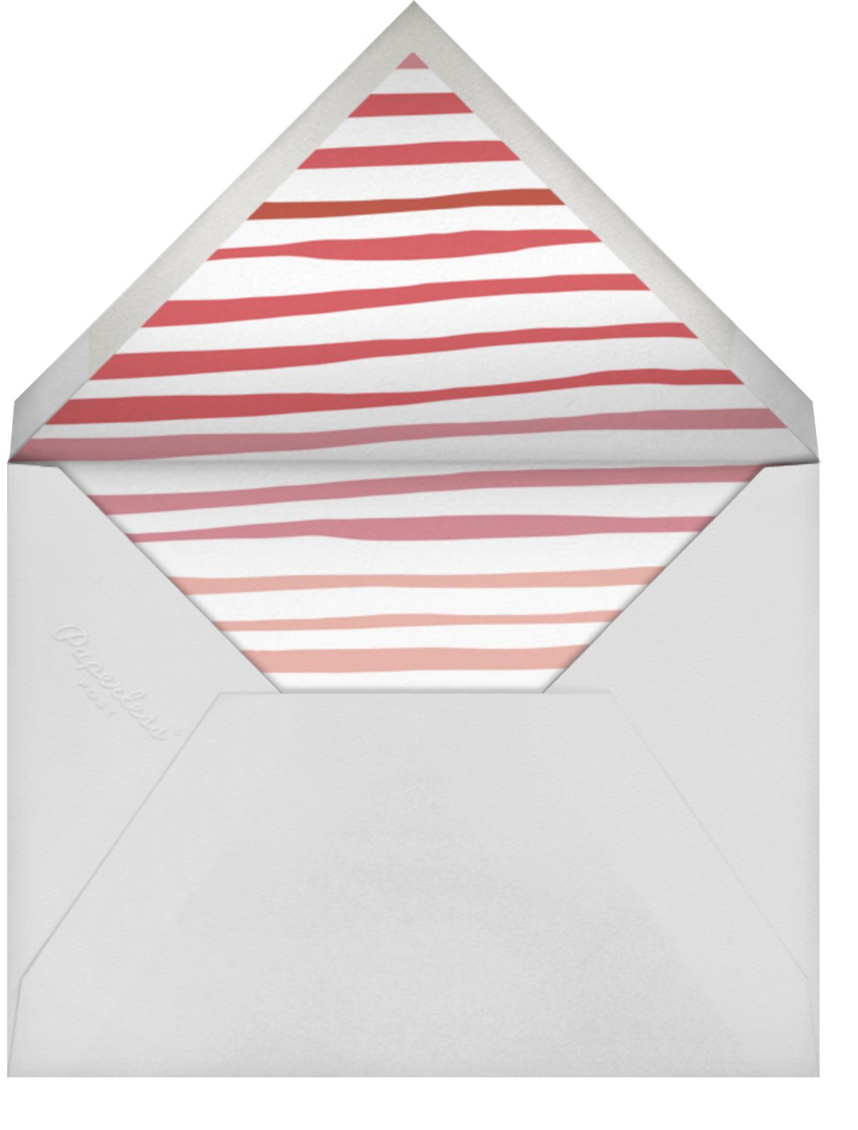 Brushed Thank You - Rose - Linda and Harriett - General - envelope back