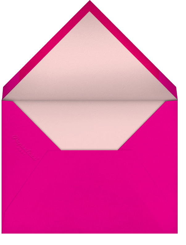 Carnaby Thanks - Multi/Gold - Paperless Post - General - envelope back