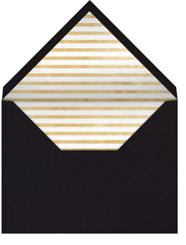 Field of Thanks (Stationery) - Glacier/Gold - Paperless Post - Wedding - envelope back