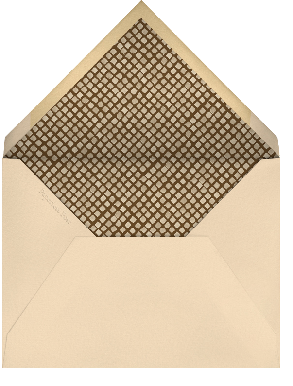 Watercolor Autumn Frame - Paperless Post - Autumn entertaining - envelope back