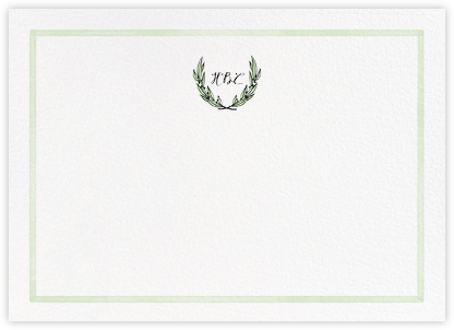 Green Goddess - Paperless Post - Personalized Stationery