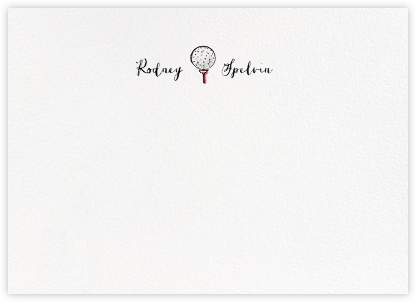 Back Nine - Paperless Post - Personalized Stationery