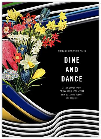 Bouquet - Mary Katrantzou - Dinner Party Invitations
