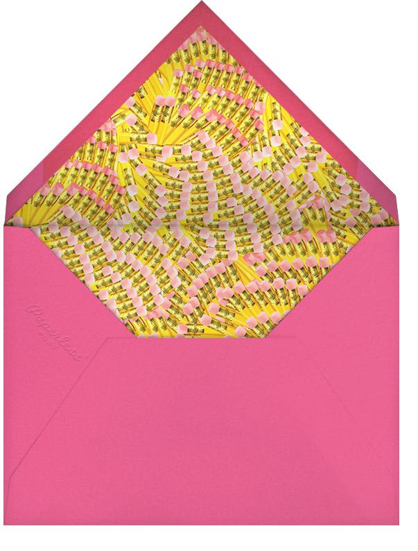 Sprinter Fritz - Mary Katrantzou - Adult birthday - envelope back