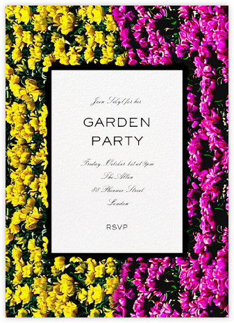 Strip Valley - Mary Katrantzou - Summer Party Invitations
