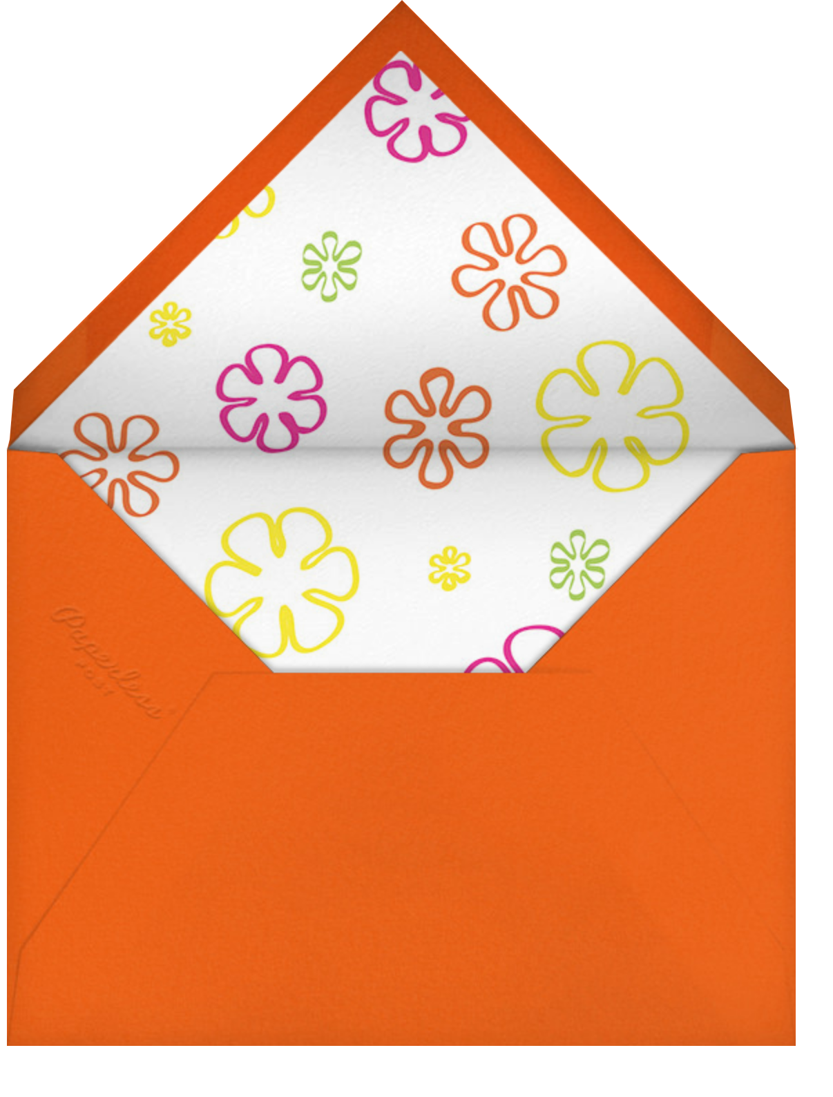 Visions of Peace - Paperless Post - Adult birthday - envelope back