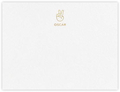 Peace in Our Time - Paperless Post - Personalized Stationery