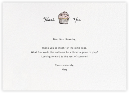 Sweet Notions - Paperless Post - Online thank you notes